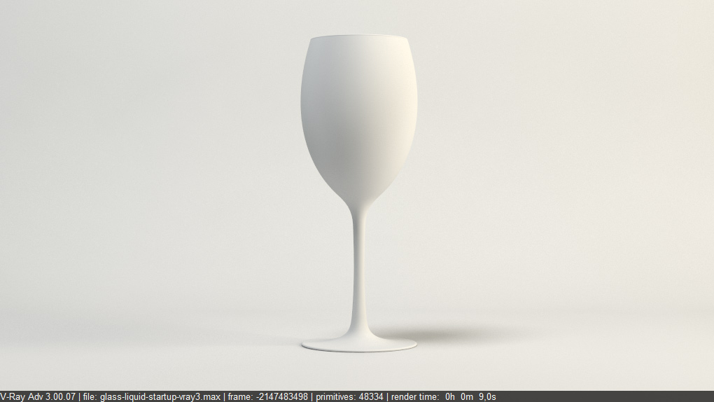 FREE Vray Tutorial - How to render glass and liquid materials? p1