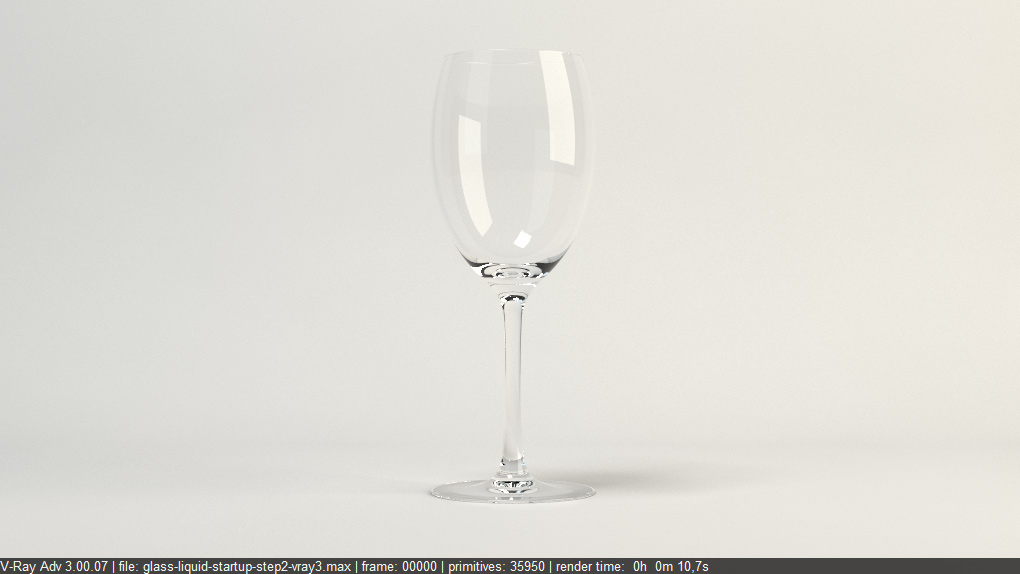 Glass reflection texture  FREE Vray Tutorial - How to render glass and liquid materials? p1
