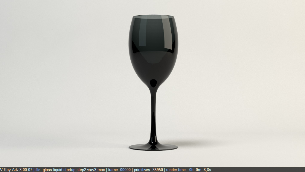 FREE Vray Tutorial - How to render glass and liquid