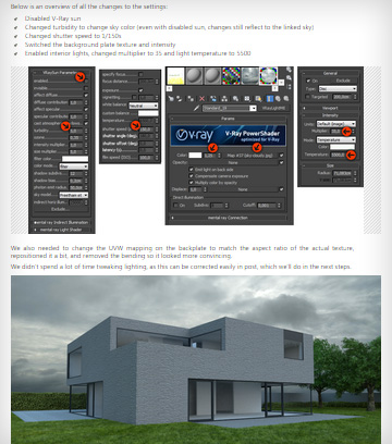 Rendering architectural exteriors Vray tutorial