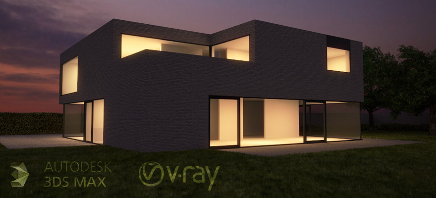 Rendering architectural exteriors vray tutorial for Vray interior lighting rendering tutorial