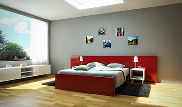Rendering interiors in day and night versions - Vray tutorial