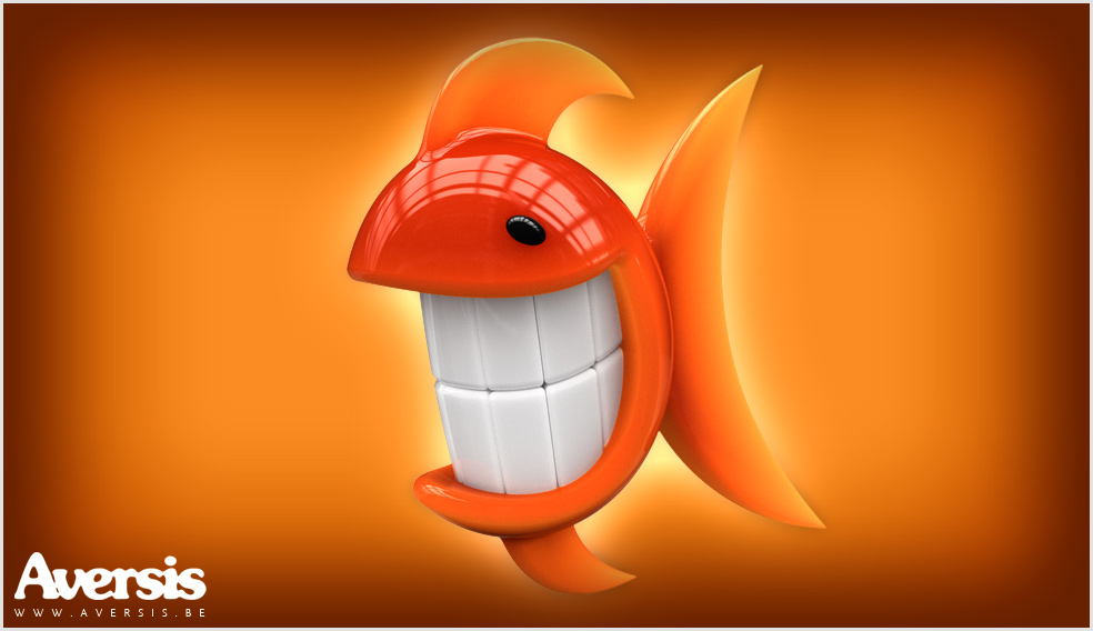 Orange Fish Free Desktop Wallpaper By Aversis